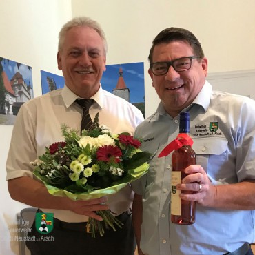 Stadtoberhaupt zum 60. gratuliert (22.08.2019)