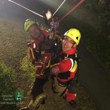 Rettungsübungen in luftiger Höhe (21.09.2019)