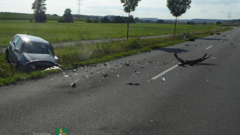 Verkehrsunfall (21.08.2019 um 16:45 Uhr)