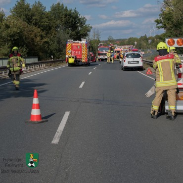 Verkehrsunfall (14.09.2019 um 16:10 Uhr)