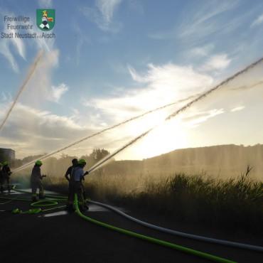 Wasserförderung über lange Schlauchstrecken (05.07.2019)