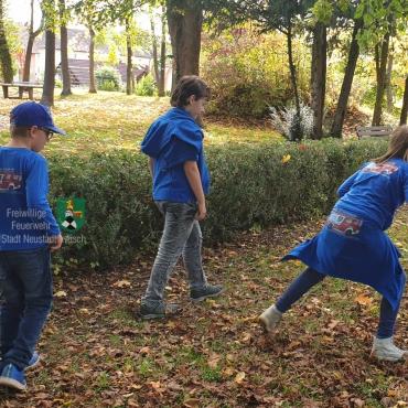 Kinderfeuerwehr auf Schatzsuche (12.10.2019)