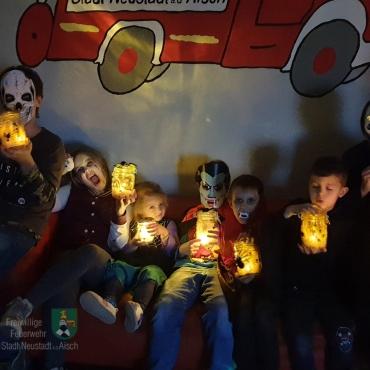 Halloween bei der Kinderfeuerwehr (26.10.2019)