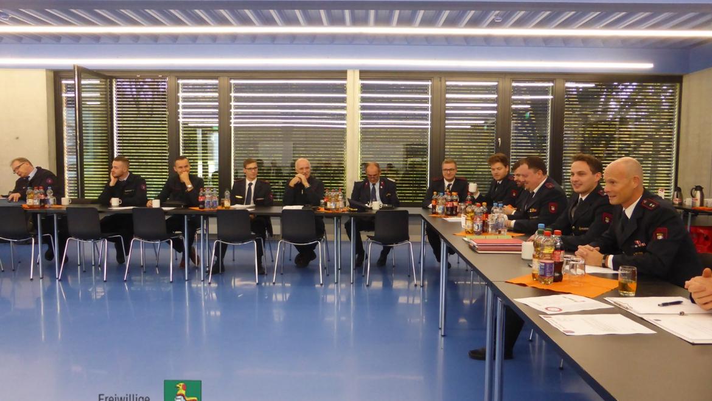 Arbeitskreissitzung Feuerwehren Neustadt in Europa