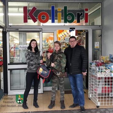 Feuerwehr Neustadt hilft Brandopfer