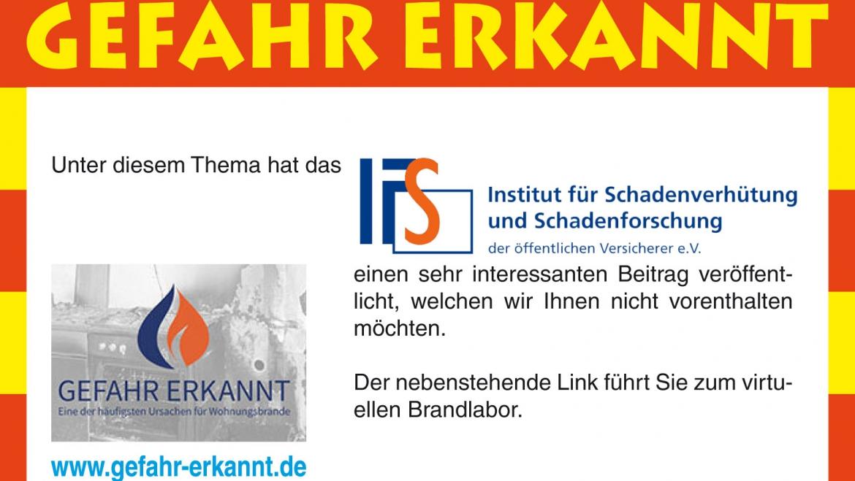 Virtuelles Brandlabor des IFS