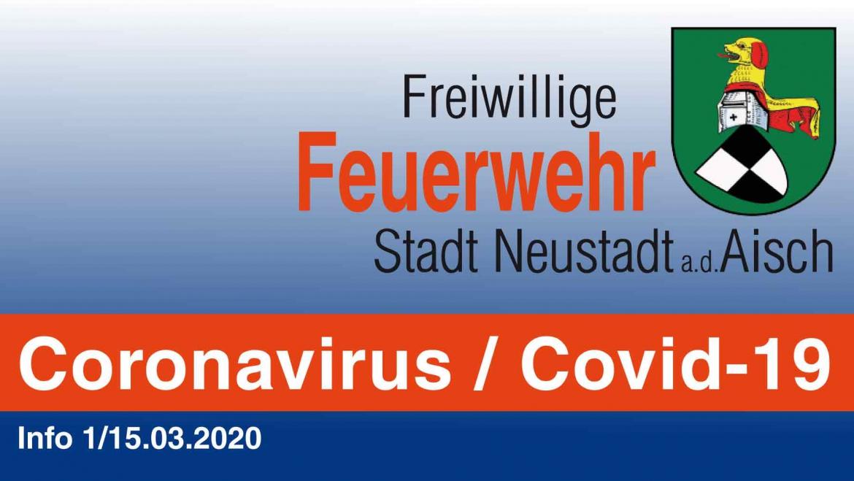 Coronavirus / Covid-19 (Info 1/15.03.2020)