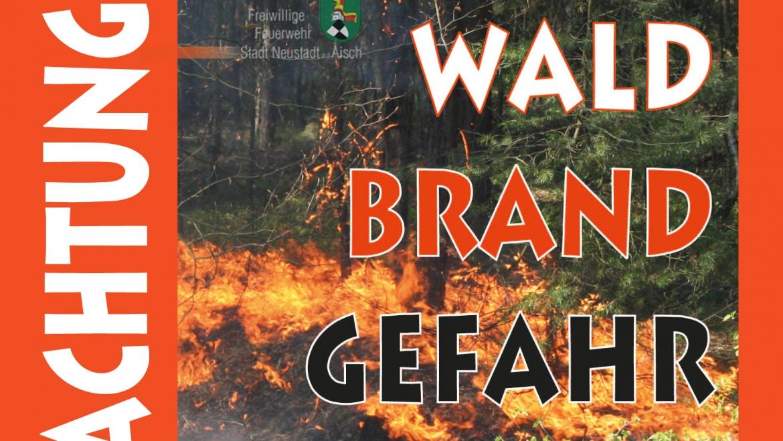 Hohe Waldbrandgefahr (April 2020)