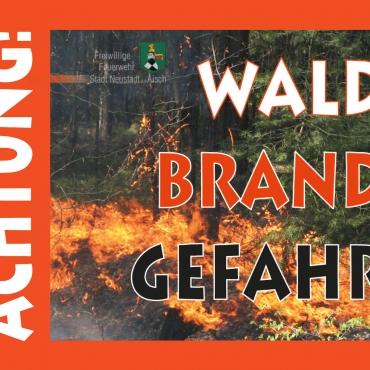 Hohe Waldbrandgefahr (August 2020)