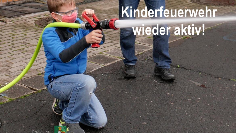 Kinderfeuerwehr wieder aktiv