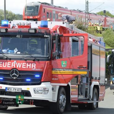 Einsatzbericht: Evakuierung eines Personenzuges (10.07.2020, 13:36 Uhr)