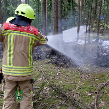 Waldbrand in der Hartschmiede (24.07.2020, 20:03 Uhr)