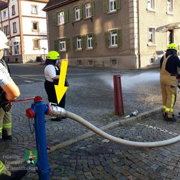 Feuerwehr Neustadt setzt Systemtrenner ein