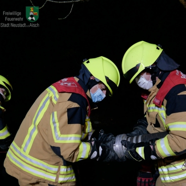 Großbrand: Überörtliche Löschhilfe