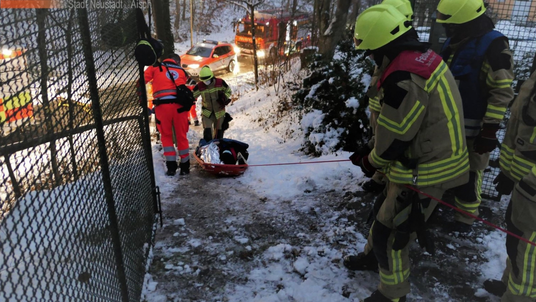 Tragehilfe für Rettungsdienst (01.12.2020, 16:19 Uhr)