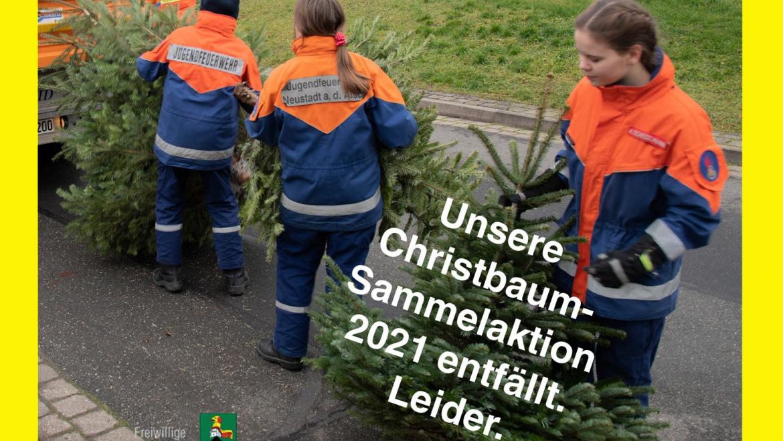 KEINE Christbaumsammelaktion 2021