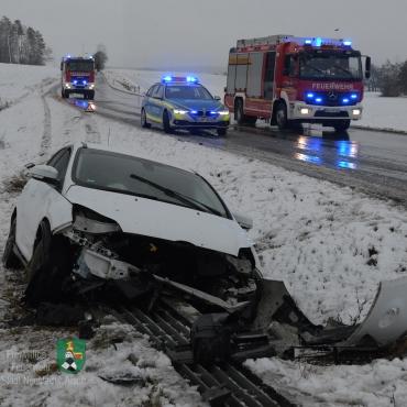 Verkehrsunfall (23.01.2021, 08:16 Uhr)