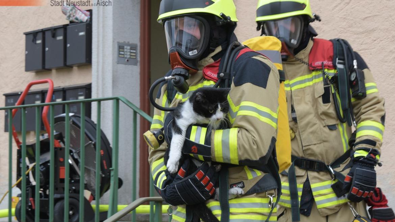 Zimmerbrand, Person in Gefahr (05.03.2021, 14:09 Uhr)