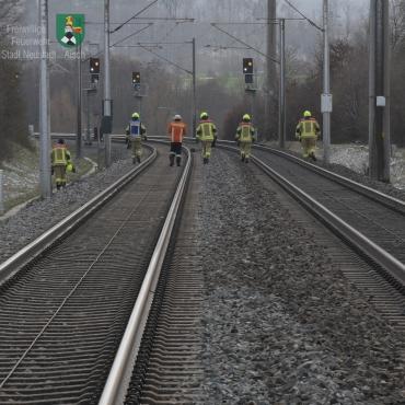 Person von Zug erfasst (06.04.2021, 10:53 Uhr)