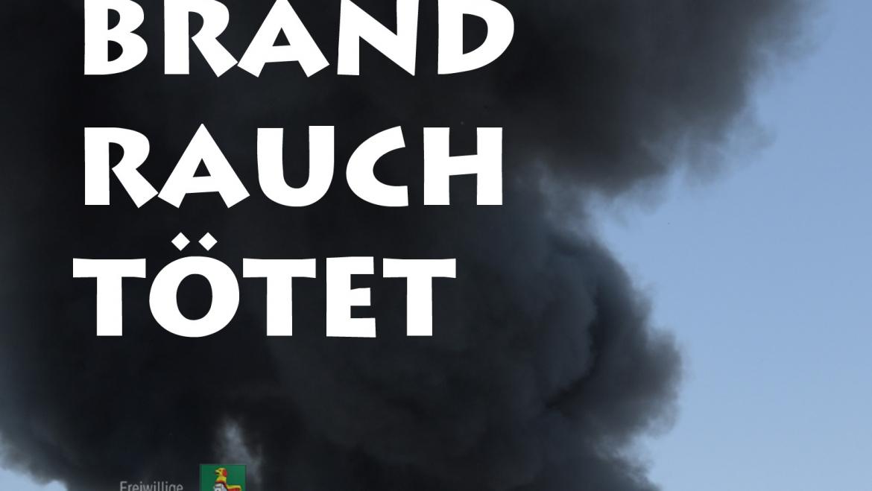 Brandrauch tötet!