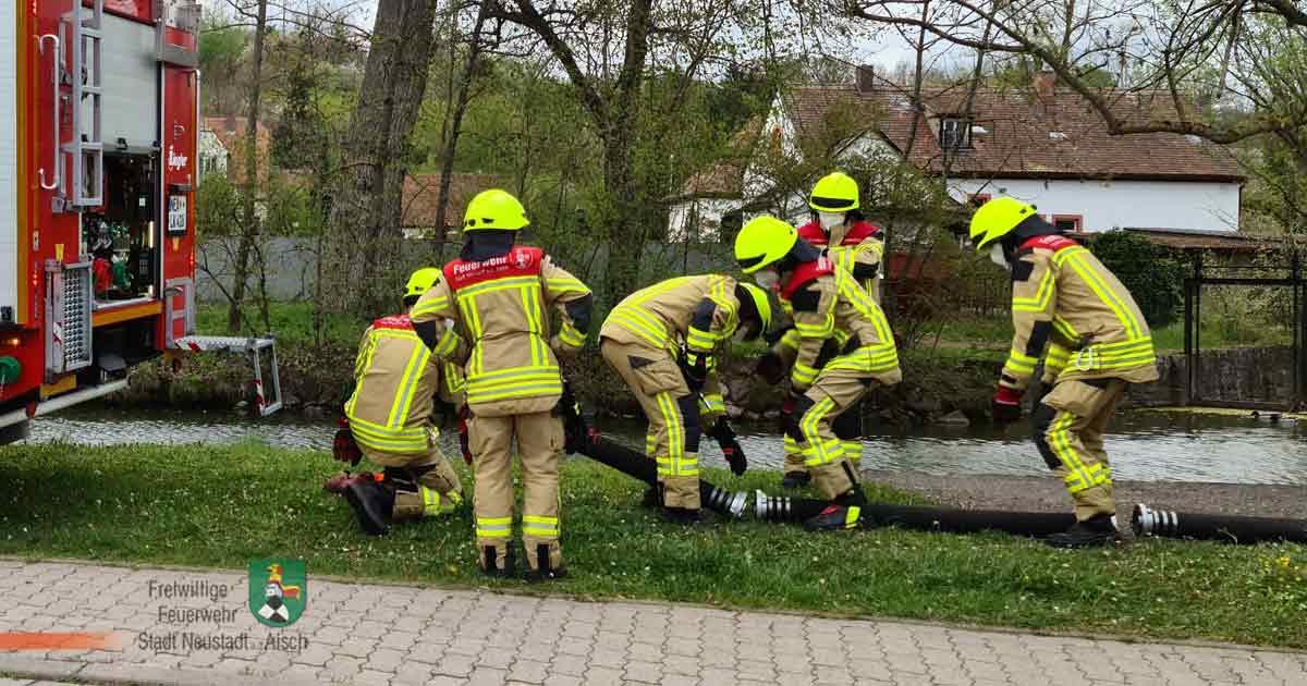 Übungsthema: Löschwasserentnahme und -fortleitung