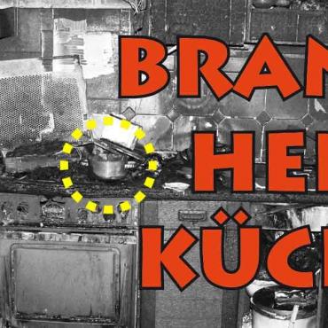 Brand-Herd-Küche