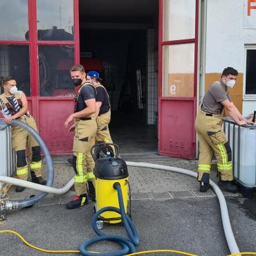 Pumpen und Saugen