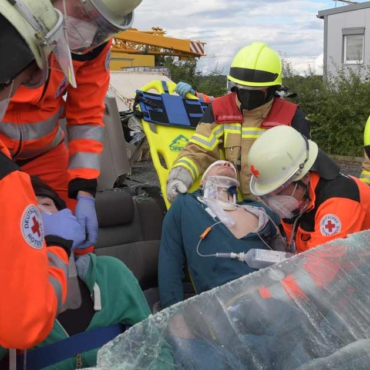 Rotes Kreuz und Feuerwehr: Retten Hand in Hand (28.08.2021)