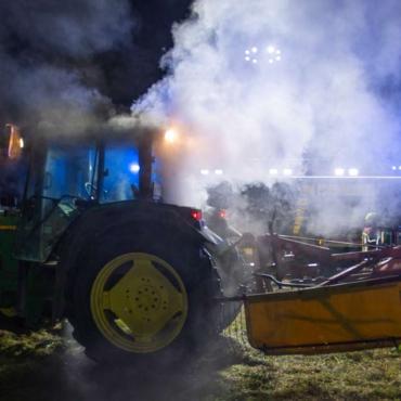 Brand landwirtschaftliches Fahrzeug (05.09.2021, 20:46 Uhr)