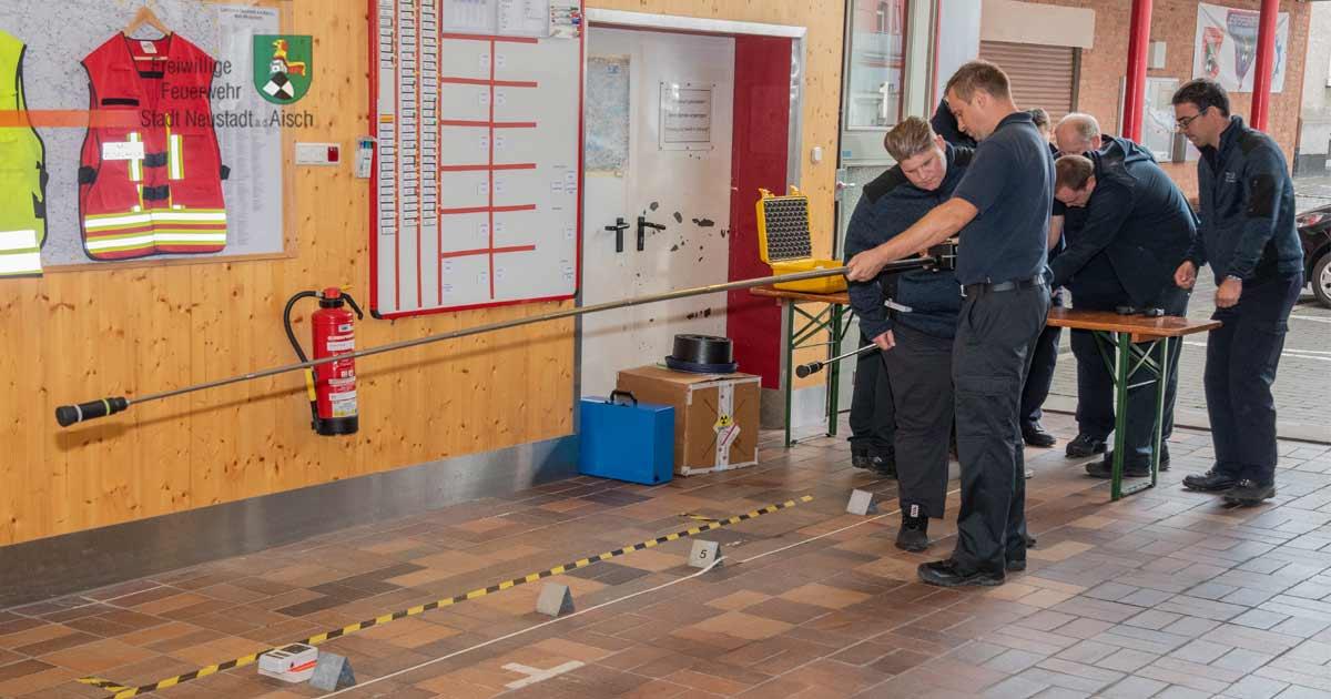 Feuerwehr und Strahlenschutz