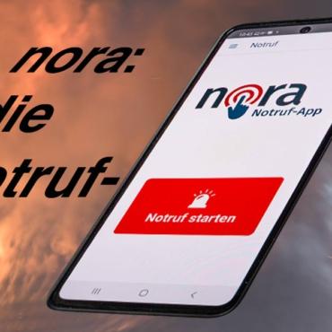 "Notruf-App ""nora"" verfügbar"